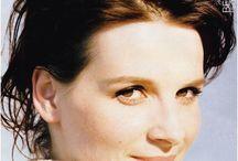 Juliete Binoche / An excelent actress. Her beauty is calm but sensual.