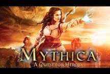 Mythica A Quest For Heroes / Stuck in a life of indentured servitude, Marek dreams of becoming a wizard. When she meets a beautiful priestess, Teela, in need of help, Marek escapes her master and puts together a team of adventurers - including Thane the Warrior and Dagen the Thief – and embarks on an epic quest to free Teela's sister from a vicious ogre. www.arrowstormentertainment.com
