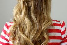 Abschlussball Frisur