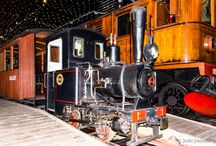 Steam locomotive and train / Pictures of all kinds of trains
