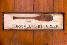 diy funny signs / by Tammy Lejeune