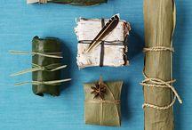 Miljövänlig julklappsinslagning