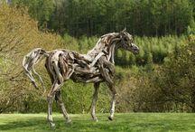 chevaux bois flotté