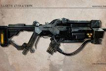 Scifi Weapon Concept