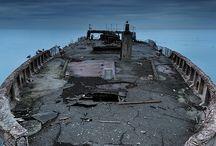 Navios abandonados