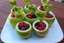 Eten / Gezond eten koken-bakken-maken met en voor je kind(eren)