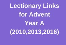 Advent, Year A:  Lectionary Links for the Revised Common Lectionary / We post children's book recommendations to accompany the Revised Common Lectionary each Sunday. This board shares book suggestions for the Scriptures used during Advent Year A (2010, 2013 and 2016.) If the books chosen for 2016 don't work for you, check the ones from earlier years!