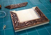 Make leather photo frame