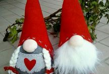 Christmas Nissen Tomte Gnome and Elf