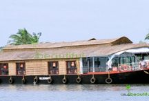 Three Bedroom Super Deluxe Houseboat / Alleppey Houseboat with three bedrooms.