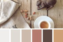 Home design color palettes