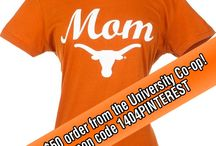 We Love our Longhorn Moms! / Gift ideas and other ways to celebrate Longhorn Moms and Texas Moms! / by University Co-op