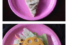 Fun food frog