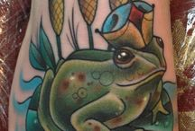 FROG & TOAD TATTOO