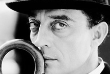 Actor/director: Buster Keaton / Stone face / by Ronald Laloli