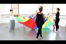 children dance..