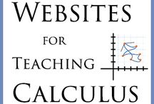 Calculus / Ideas for teaching Calculus. PLEASE only pin free sites - any TPT or other for pay sites will be removed.