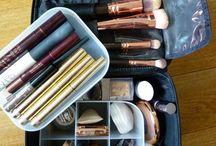 Reizen make-up tassen
