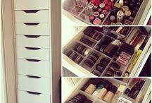 Organisation de maquillage