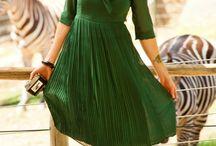 Mi vestido verde :)