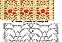 patron camino de mesa crochet