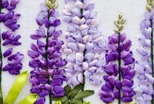 Květiny látkové