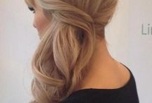 hair for events