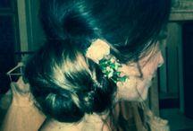 wedding makeup & hair /mobile uploads / Hairstyles by Jitka Novotna