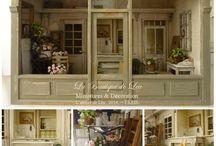 miniatures / magasins et jardins miniatures