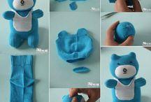 Hračky z ponožek