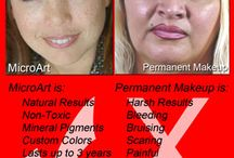 Difference between Permanent & Semi-Permanent / Do you know the difference? For more info, visit us at www.microartmakeup.com or call 888-943-8880