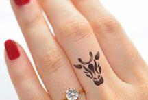 tatoo dedo
