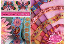 ribbons / colorful ribbons