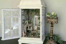 miniatury domków