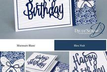 Cards - SU Happy Birthday Gorgeous & Thinlits