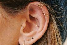 B O D Y M O D I F I C A T I O N // Piercings / Beautiful & elegant piercings