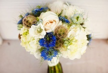 Laura & Gary / March 2014 blues, greys and creams – with soft grey-greens. Bridesmaids are to wear blue-grey.