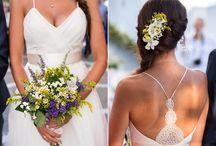 Wedding Bouquets & Crowns / The Bridal Bouquet