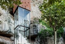 Architecture elevators