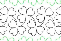 Continuous Line Quilting Designs / Paper Quilting Designs