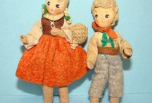 Grecon, Baps, Erna Meyer Dolls & Similar / Vintage doll house and miniature German dolls