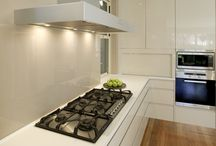 Kitchens - Splashback / The kitchen design is not completed without a nice splashback.