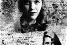 Sylvia plath / Sylvia Plath was one of the most dynamic and admired poets of the twentieth century. By the time she took her life at the age of thirty, Plath already had a following in the literary community. In the ensuing years her work attracted the attention of a multitude of readers, who saw in her singular verse an attempt to catalogue despair, violent emotion, and obsession with death.  / by Deepika Dk