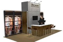 Exhibit Booth Bar