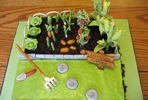 Veggie Garden Cakes!!!