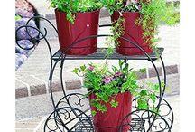 flower plant cart