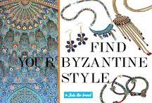 FIND YOUR BYZANTINE STYLE! / Τα Βυζαντινά κοσμήματα είναι η νέα τάση στο χειροποίητο κόσμημα για το φθινόπωρο 2016. Έλα στα καταστήματα gini ή μπες στο goo.gl/8gUa4C και ανακάλυψε τη νέα συλλογή και μοναδικές ιδέες κατασκευής...