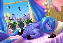 Princess Luna/Princess Celestia
