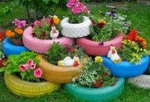 flowers tire