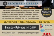 Denver's My Brother's Keeper Youth Summit / Denver's My Brother's Keeper Youth Summit